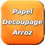 Papel Decoupage Arroz