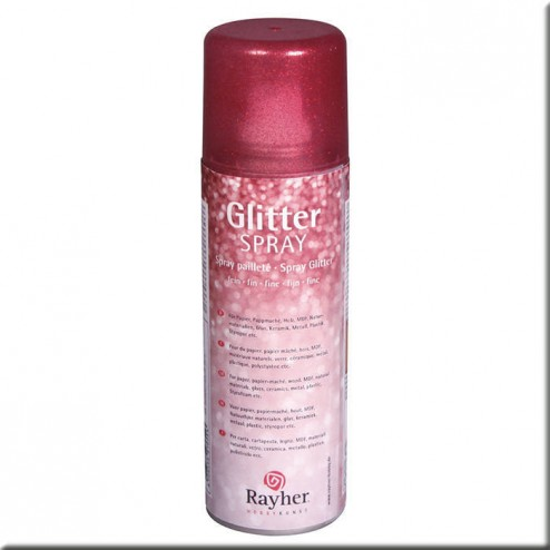 Spray Glitter - Rojo