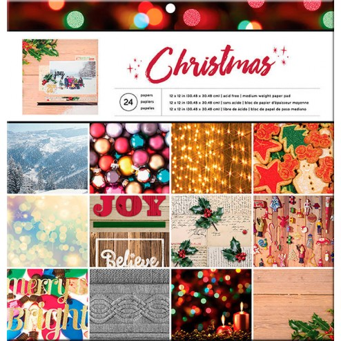 Papeles Scrapbooking Christmas
