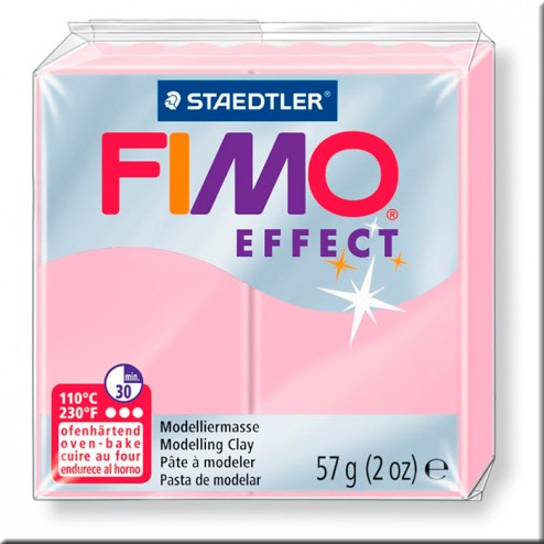 Fimo Effect Pastel Rosa (205)
