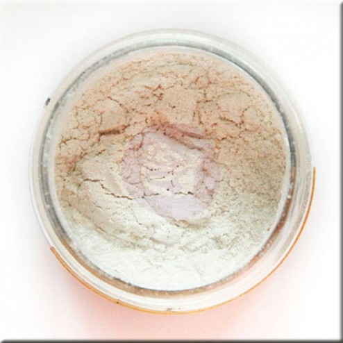 Mica Powder Pale Silver (17g) Finnabair art ingredients