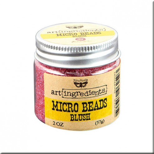 Micro Beads Blush (57g) Finnabair art ingredients