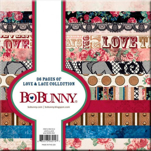 Papeles Scrapbooking - Love & Lace (15 x 15) BoBunny