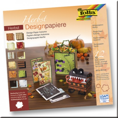 Scrapbooking - Block Otoño - Halloween