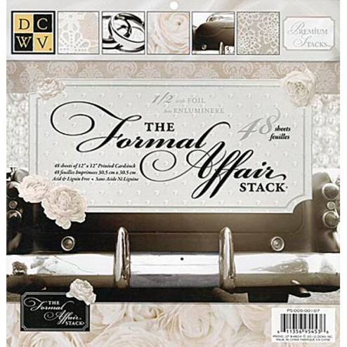 Conjunto de Papeles Scrapbooking - Formal Affair (30,5x30.5)