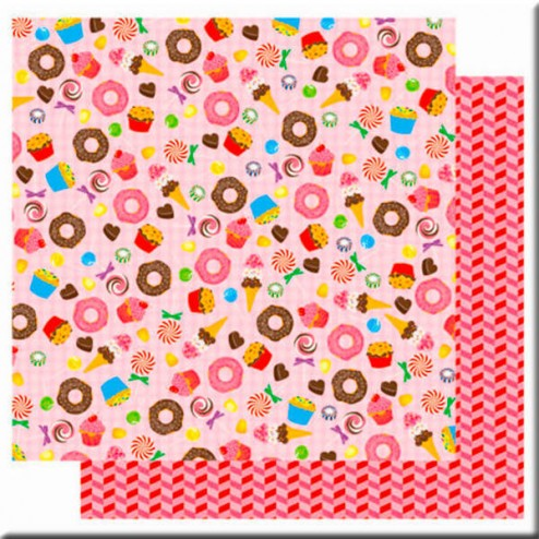 Papel Scrapbooking Candy Shop (30 x 30)