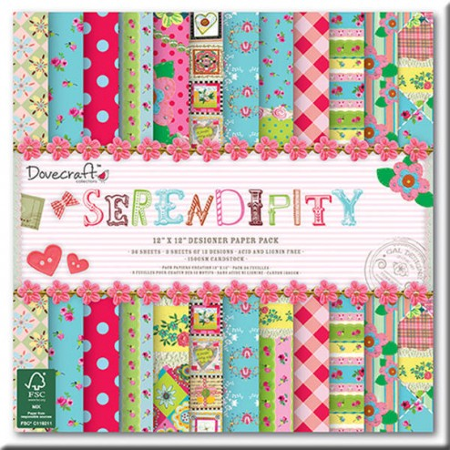 Papeles Scrapbooking - Serendipity (30x30)