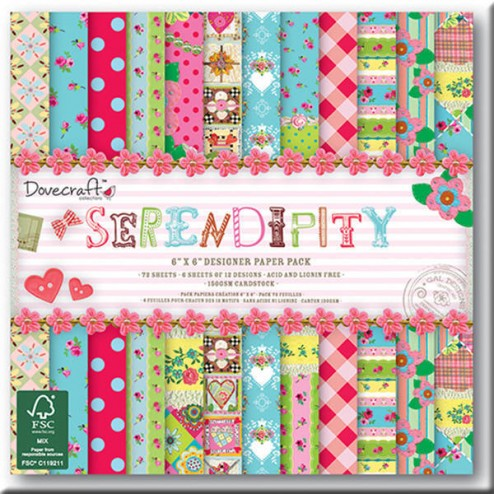 Papeles Scrapbooking - Serendipity (15x15)