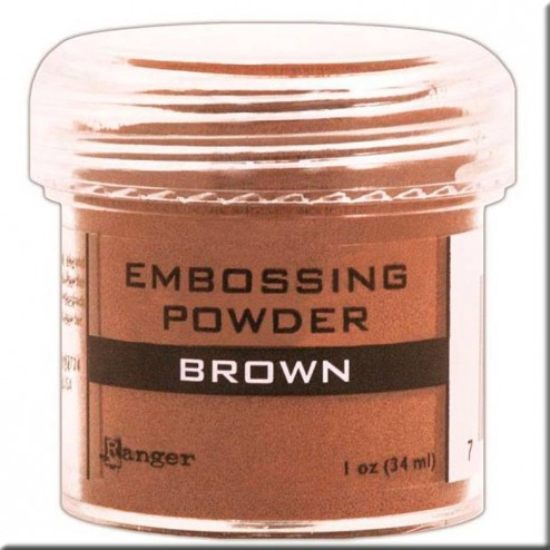 Polvo Embossing - Brown