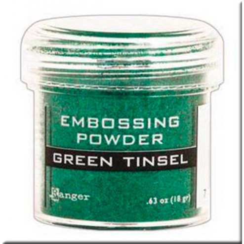 Polvo Embossing - Green Tinse