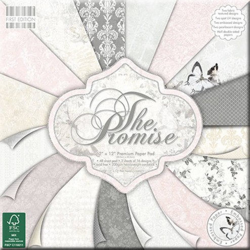 Papeles Scrapbooking - The Promise (30x30)
