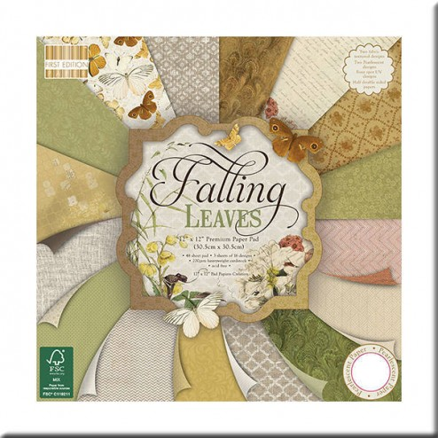 Papeles Scrapbooking - Falling Leaves (30x30)
