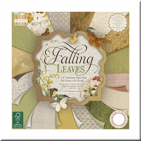 Papeles Scrapbooking - Falling Leaves (20x20)