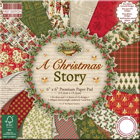 Papeles Scrapbooking A Christmas Story (15 x 15)