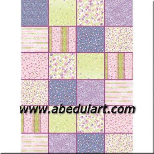 Fieltro estampado Patchwork