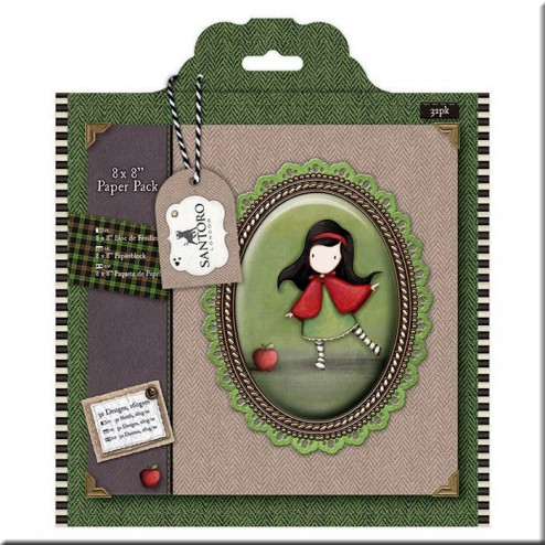 Papeles Scrapbooking Tweed - Gorjuss (20x20)