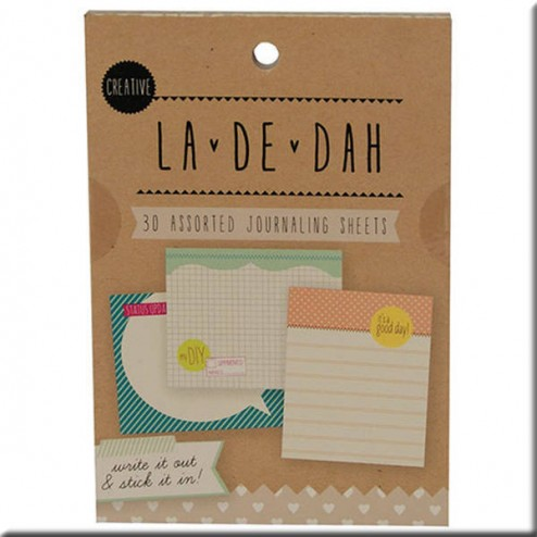 Journaling Sheets La De Dah - Creative