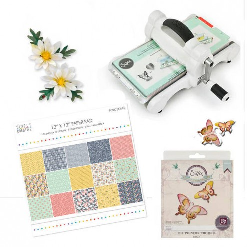 "Kit Big Shot White & Gray ""Te Quiero Mamá"""