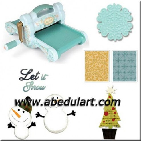 Kit Big Shot Blue & Teal - Blanca Navidad