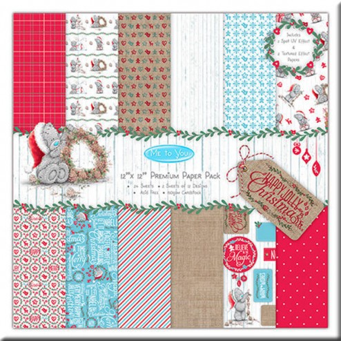 Papeles Scrapbooking - Me to You Christmas (30 x 30)