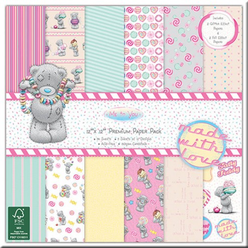 Papeles Scrapbooking Me to You Sweet Shop (30x30)
