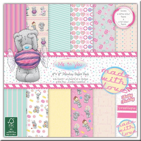 Papeles Scrapbooking Me to You Sweet Shop (20x20)