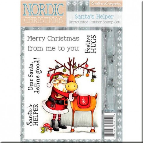 Sellos Santa's Helper Nordic Christmas
