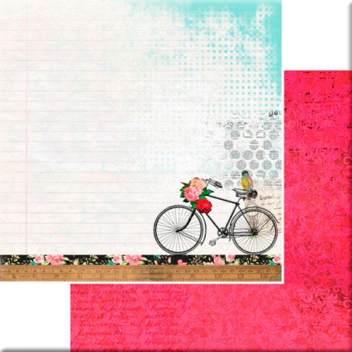 Papel Scrapbooking - Layers