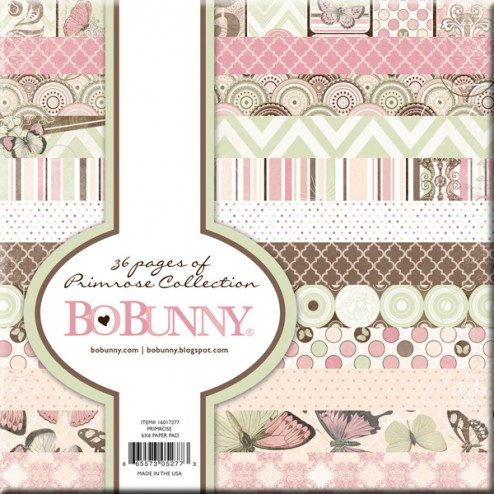 Papeles Scrapbooking - BoBunny - Primrose Collection (15x15)
