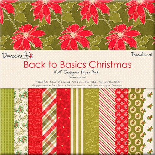 Papeles Scrapbooking - Christmas Traditional (20x20)