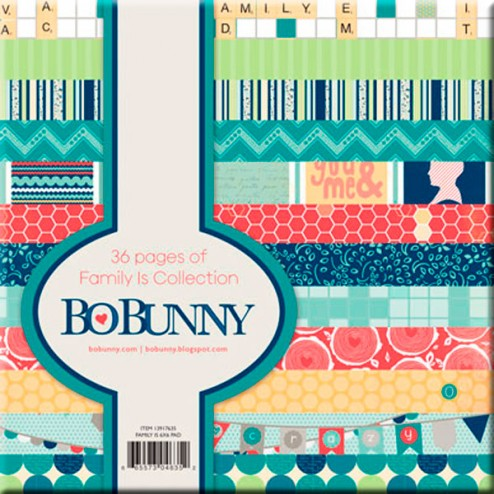 Papeles Scrapbooking Family Is (15x15) - BoBunny