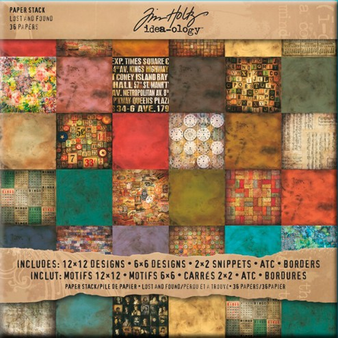 Papeles Scrapbooking - Lost and Found (30,5x30,5)