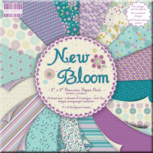 Papeles Scrapbooking - New Bloom (20x20)