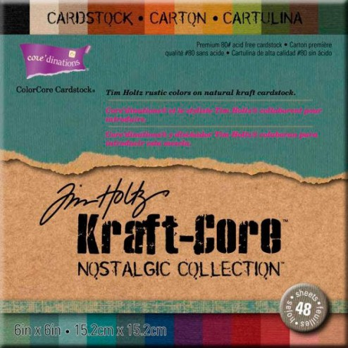 Papeles Scrapbooking - Nostalgic Collection (15,2 x 15,2)