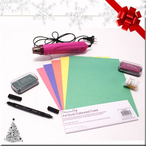 Pack Regalo - Embossing Forest Pink