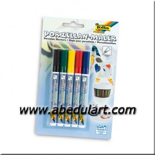 Rotulador - Porcelana  (set de 5)