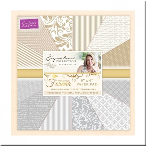 Papeles Scrapbooking Together Forever (15x15)