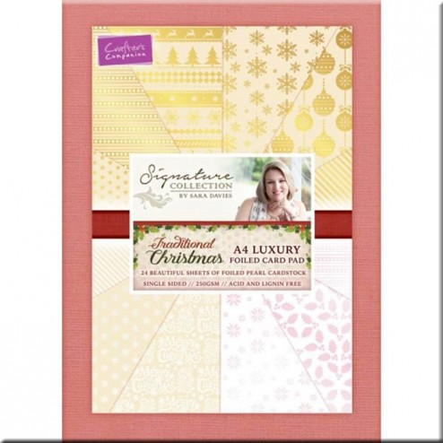 Papeles Scrapbooking Traditional Christmas (A4)