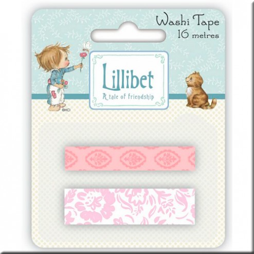 Set 2 Washi Tape -Decoración Rosa
