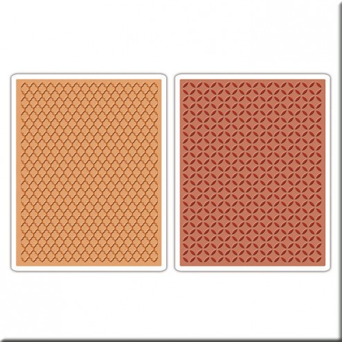 Carpetas Embossing - Conjunto Patio Interior y Enrejado