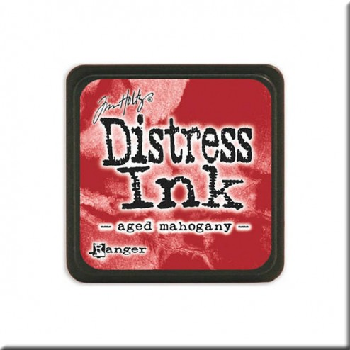 Tinta Distress Ink Mini - Aged Mahogany
