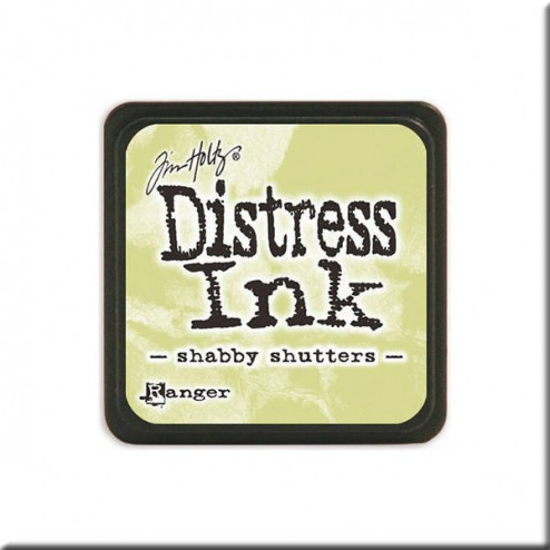 Tinta Distress Ink Mini - Shabby Shutters