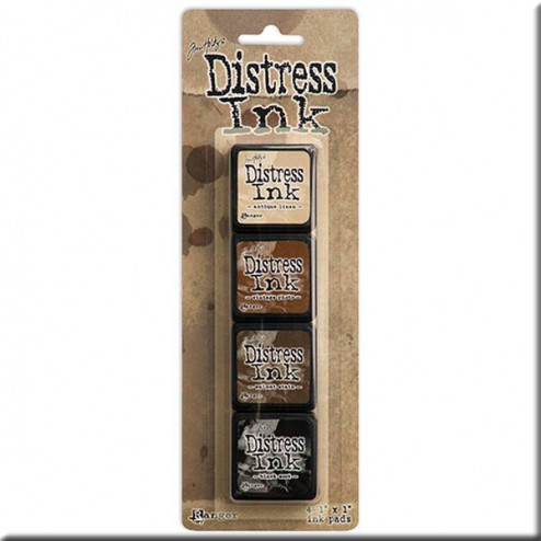 Tintas Distress Ink Kit 3