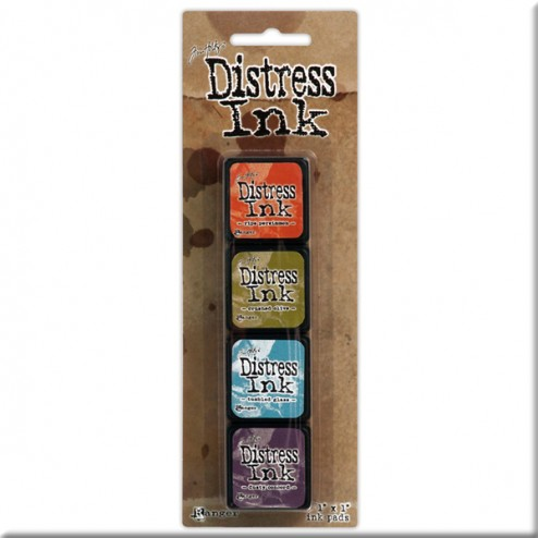 Tintas Distress Ink Kit 8