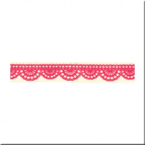 Washi Tape - Puntillas Rojas