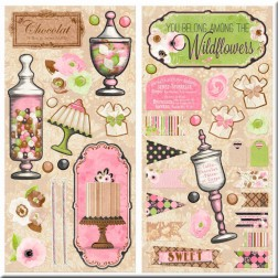 Set Formas Troqueladas Sweet Moments