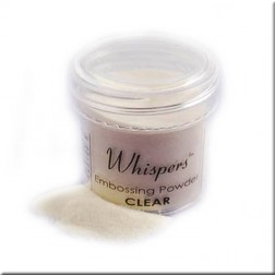Polvo Embossing Whispers Clear Gloss