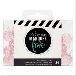 Marquee Love - Protector LED Facetado Rosa (15 mm)