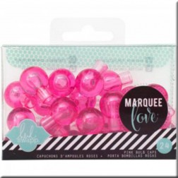 Marquee Love - Protector LED Rosa (17 mm)