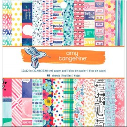 Papeles Scrap Better Together Amy Tangerine (30x30)